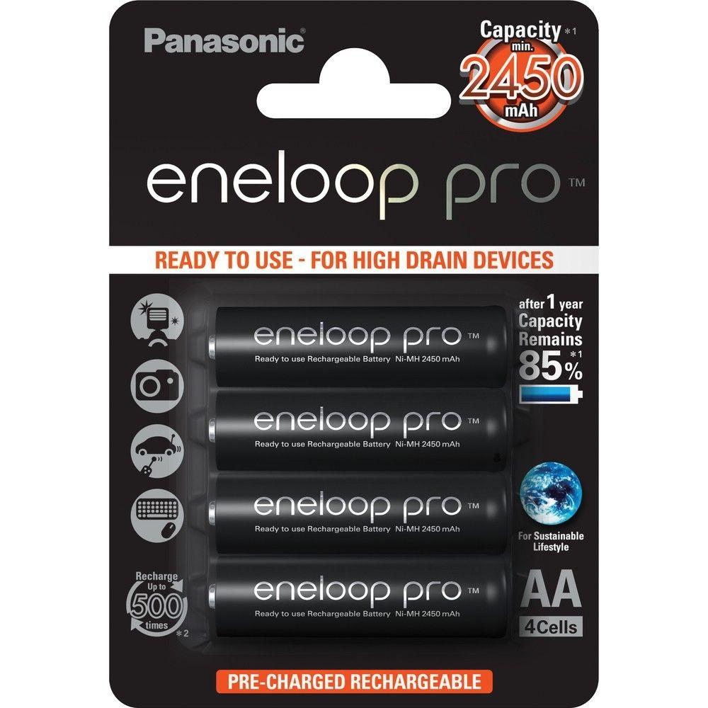 Balenie - Batéria Panasonic AA Eneloop Pre, tužková - 2500 mAh (4ks)