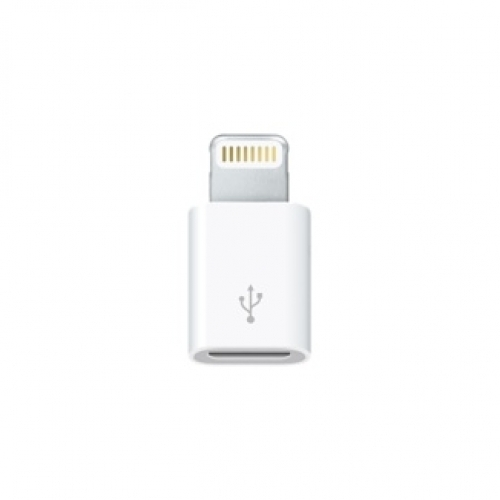 Adaptér MD820ZM/A iPhone 5, iPhone 6/6S - microUSB