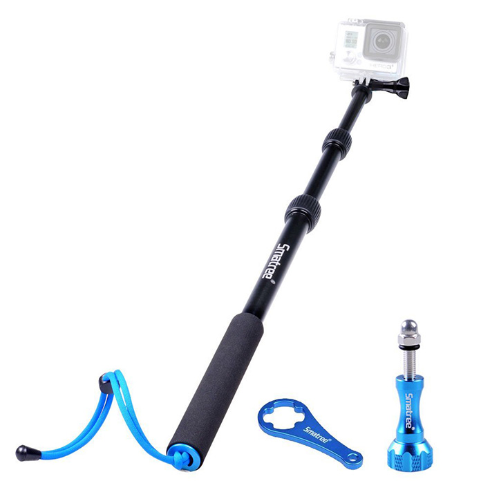 Monopod Smatree Smapole S1 - teleskopický selfie držiak pre GoPro - 40-103 cm