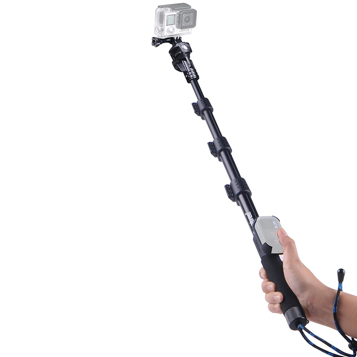 Monopod Smatree Smapole Y1 - teleskopický selfie držiak - 45-123 cm