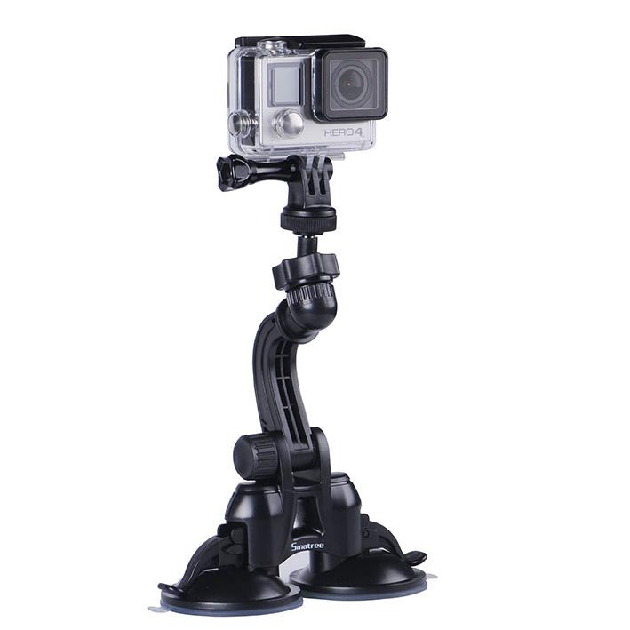 Přísavný držiak na sklo Smatree Double Suction Cup pre kamery GoPro