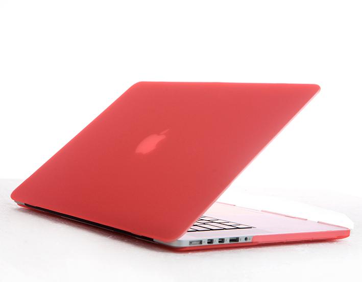 """Priehľadný obal na MacBook Pre Retina 13"""" - růžový"""