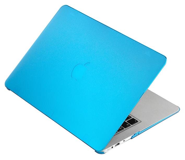 """Priehľadný obal na MacBook Air 13"""" - modrý"""