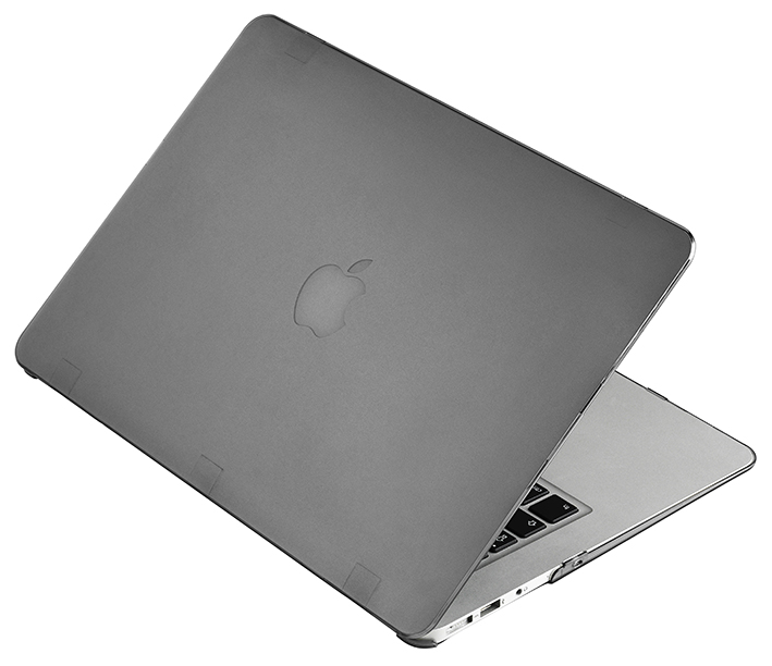 """Priehľadný obal na MacBook Air 13"""" - šedý"""
