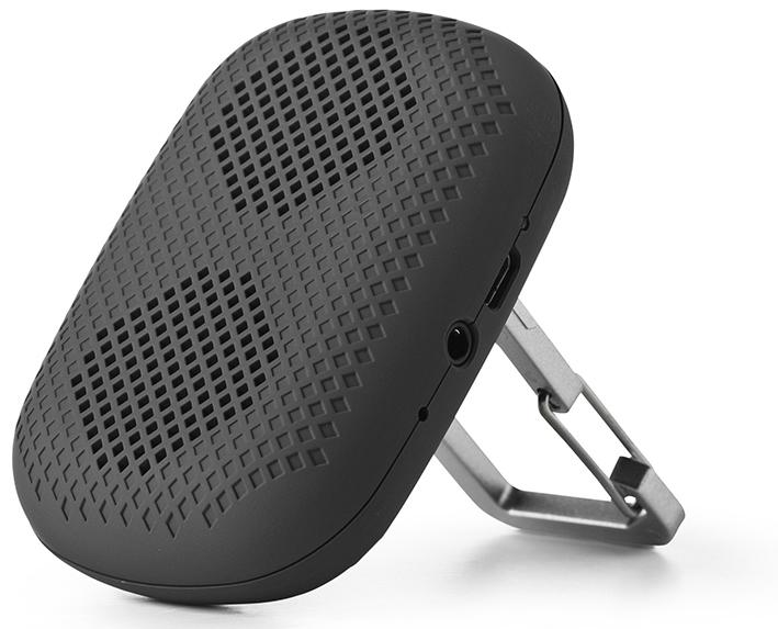 Mobilný bluetooth repreduktor eSTUFF Speaker Exo, šedý