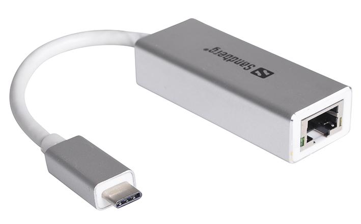 Adaptér USB-C - RJ45 (LAN)
