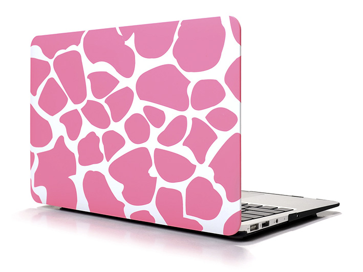 """Plastový obal na MacBook Pre Retina 13"""" Giraffe - růžový"""