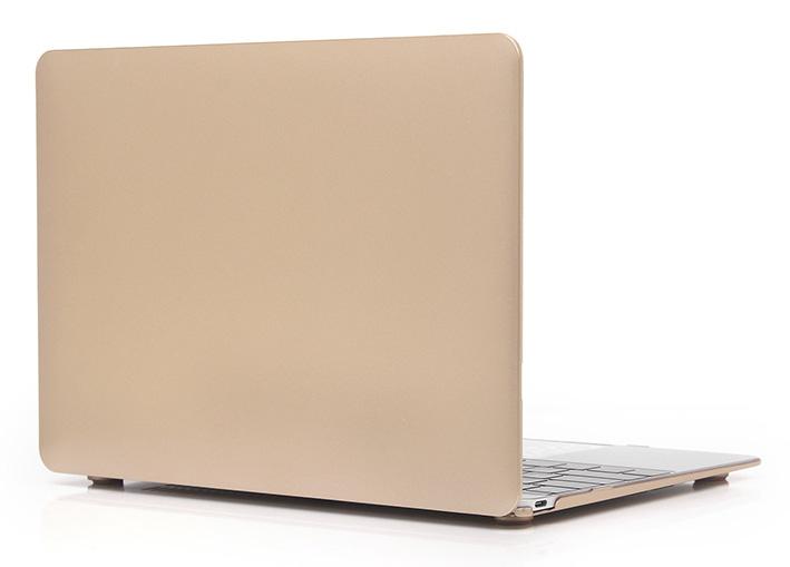 "Plastový obal na MacBook Pre Retina 13"" - zlatý"