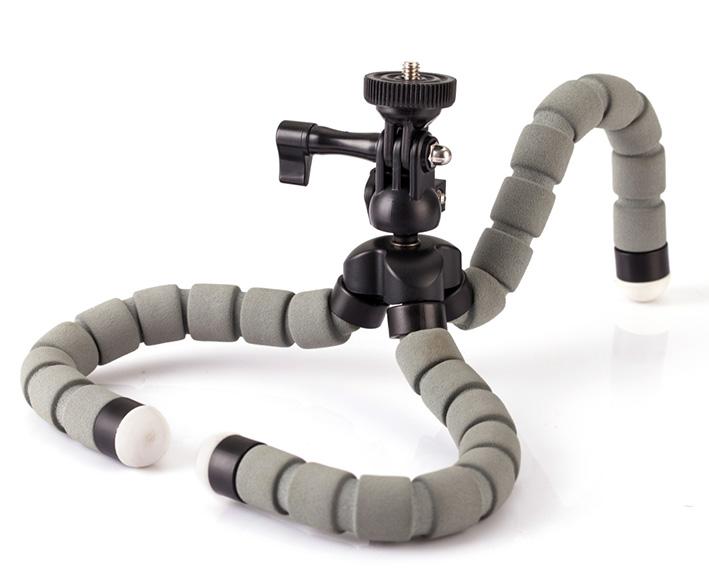 KINGJOY  KT-600S - ohebný ministativ pre GoPro a fotoaparáty