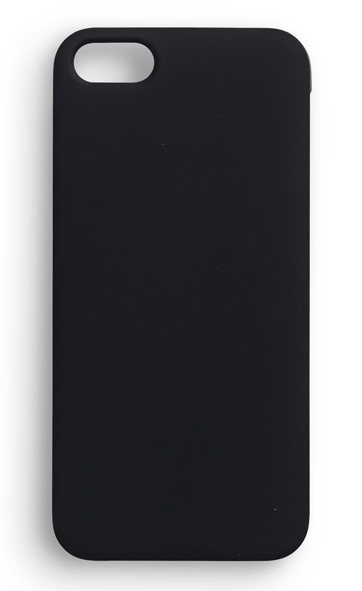 eSTUFF  iPhone 5/5s SoftGrip Casa - černý