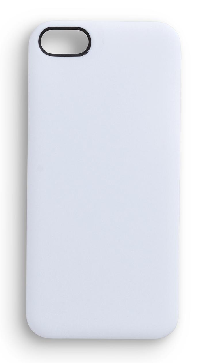 eSTUFF  iPhone 5/5s SoftGrip Casa - bílý