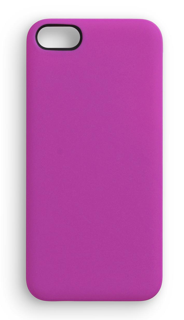 eSTUFF  iPhone 5/5S SoftGrip Casa - růžový