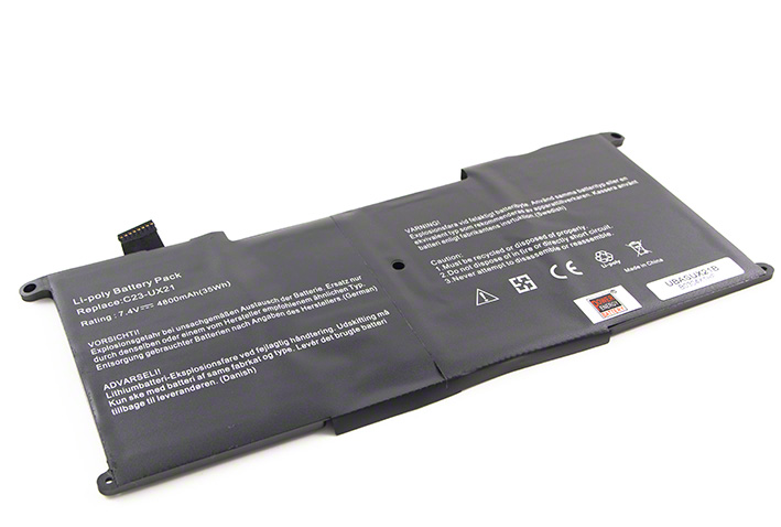 Batéria pre Asus Zenbook UX21A, UX21E - 4800 mAh