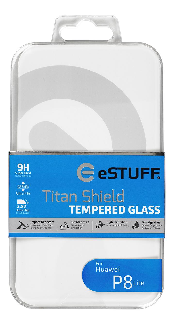 eSTUFF  ochranné sklo TitanShield pre Huawei P8 Lite