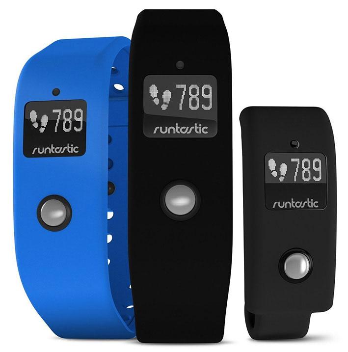 Runtastic Orbit - fitness náramek - černý/modrý
