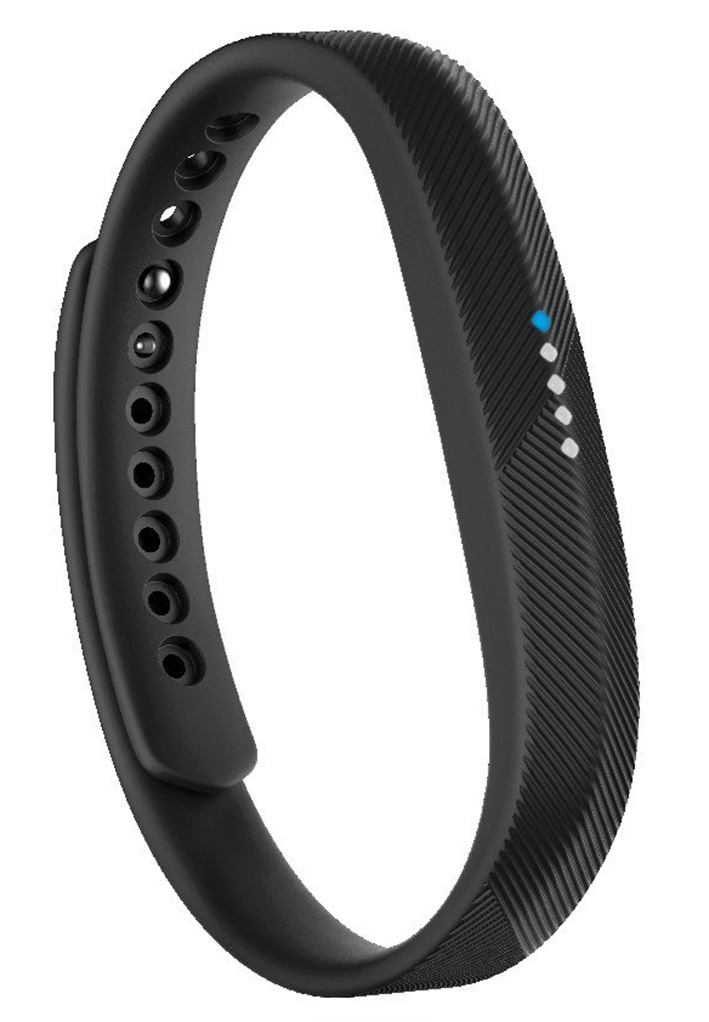 Fitbit Flex 2 - fitness náramok - čierný