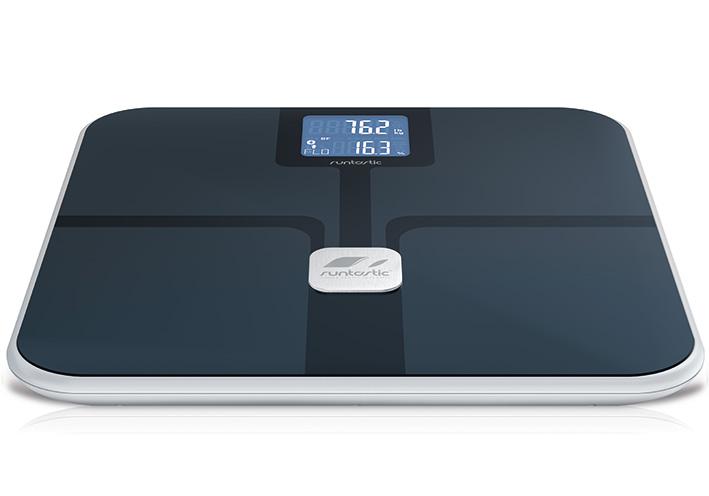 Chytrá osobná váha Runtastic Libra - čierná