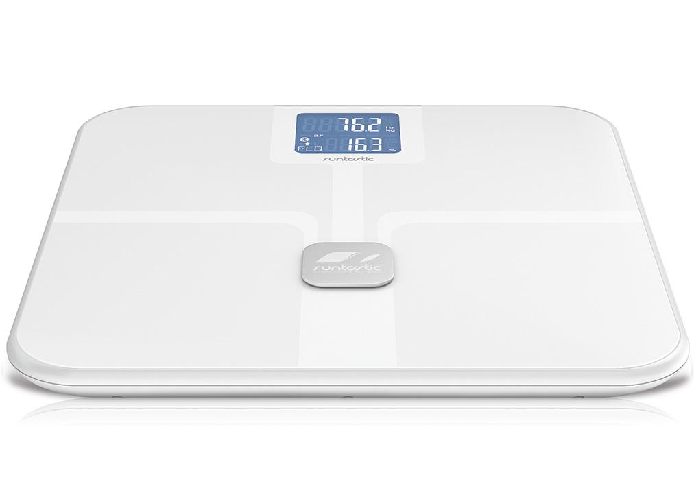 Runtastic Libra - chytrá osobná váha - biela