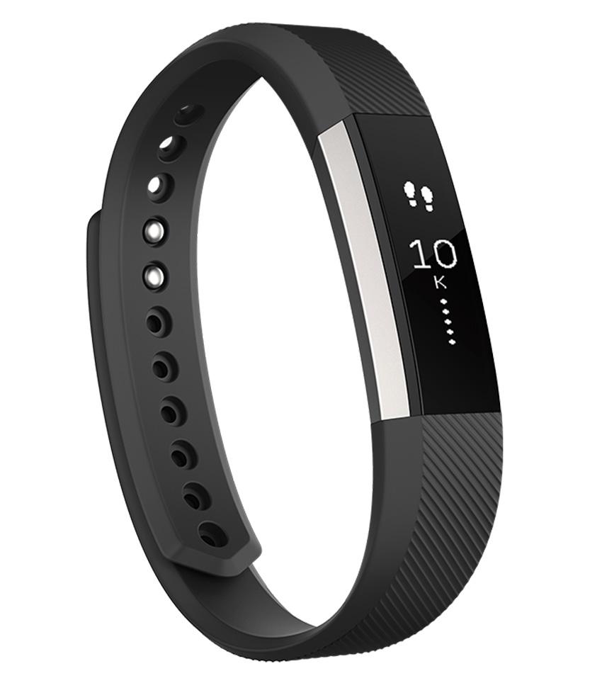 Inteligentný fitness náramok Fitbit Alta - veľkosť S - čierný