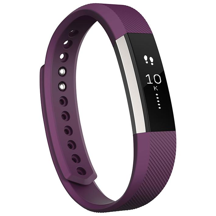 Inteligentný fitness náramok Fitbit Alta - veľkosť S - fialový