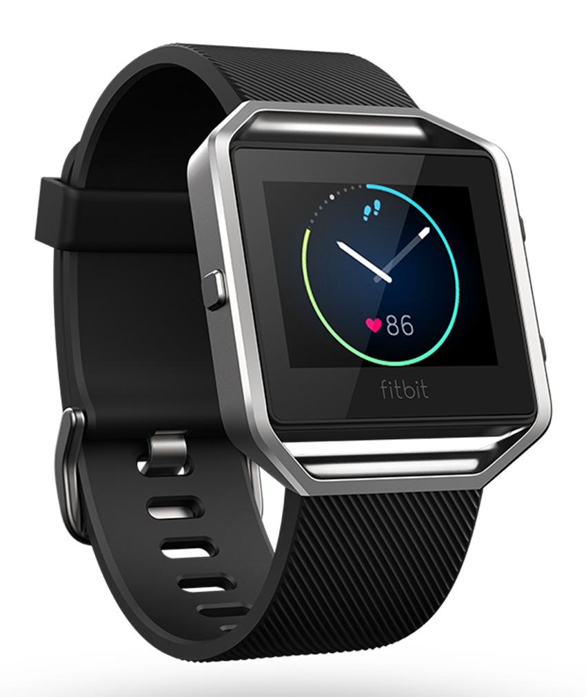 Fitbit Blaze - inteligentné hodinky - vel. S, čierne/stříbrné