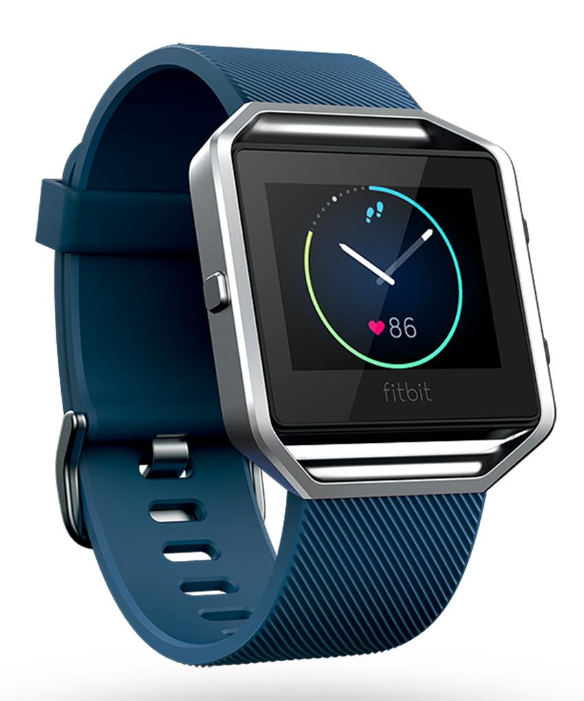 Fitbit Blaze - inteligentné hodinky - vel. S, modré