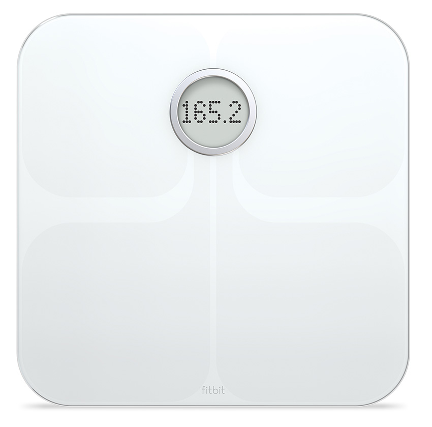 Fitbit Aria - inteligentná osobná váha - biela