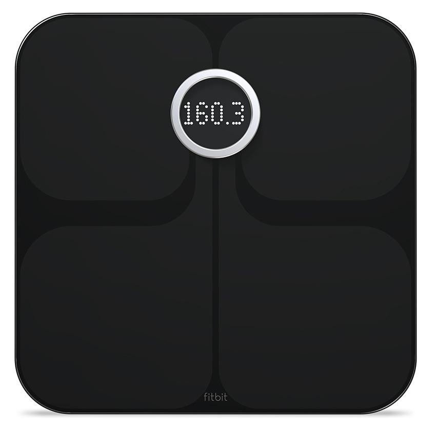 Fitbit Aria - inteligentná osobná váha - čierná