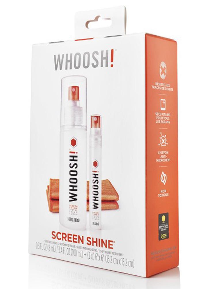WHOOSH Screen Shine Duo Box - 100 + 8 ml