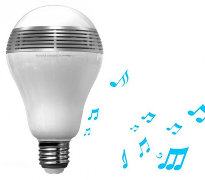MiPow Playbulb inteligentná LED Bluetooth žiarovka s repreduktorem