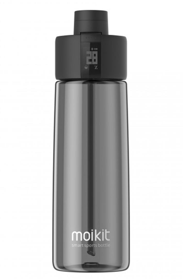 Moikit Gene inteligentná športová lahev 700 ml - čierná