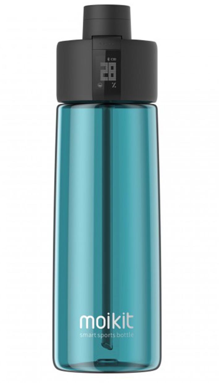 Moikit Gene inteligentná športová lahev 700 ml - modrá