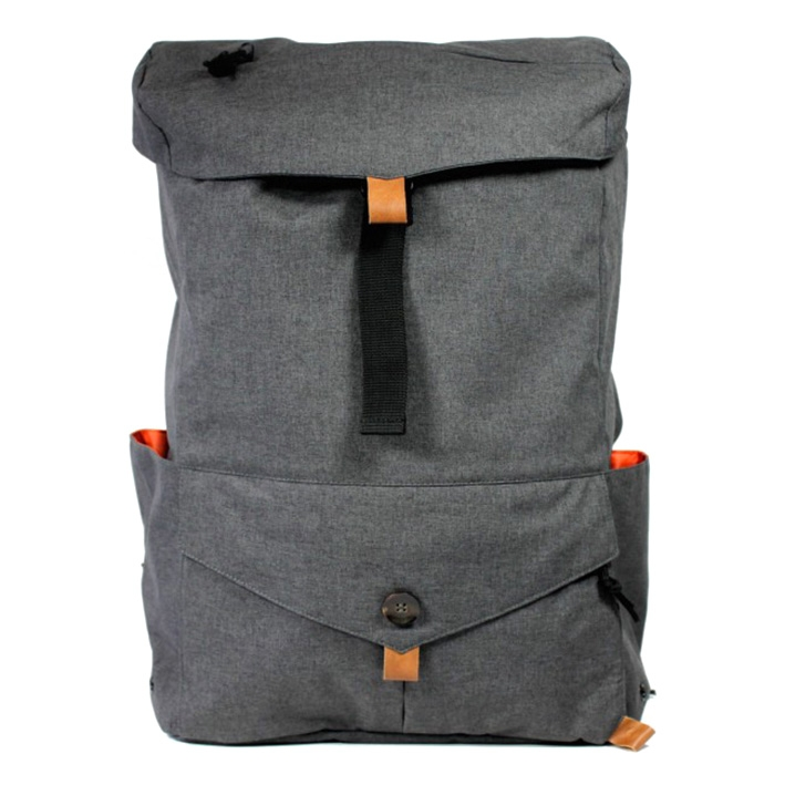 PKG DRI Backpack - tmavošedý