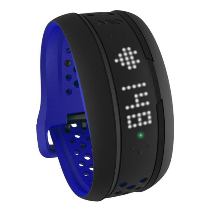 Mio FUSE senzor srdečnýho tepu, denní aktivity a spánku - dlouhý pásak - kobaltove modrý