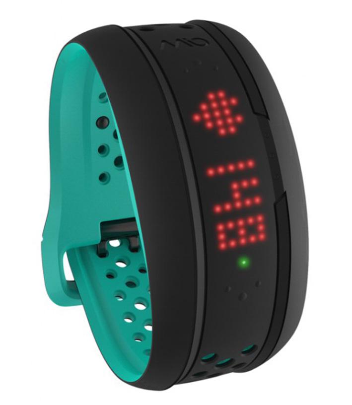 Mio FUSE senzor srdečnýho tepu, denní aktivity a spánku - krátký pásak - tyrkysový