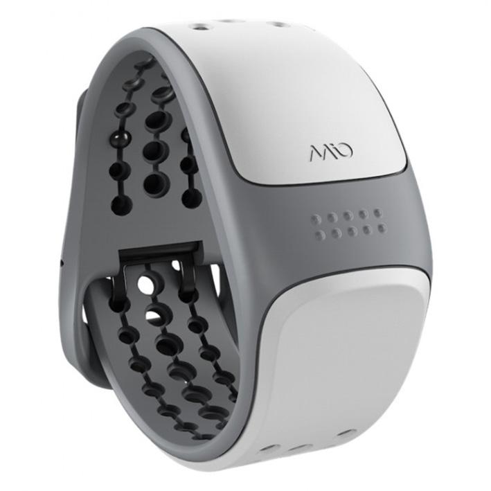 Mio LINK zápestní senzor srdečnýho tepu s krátkým páskem - bílý
