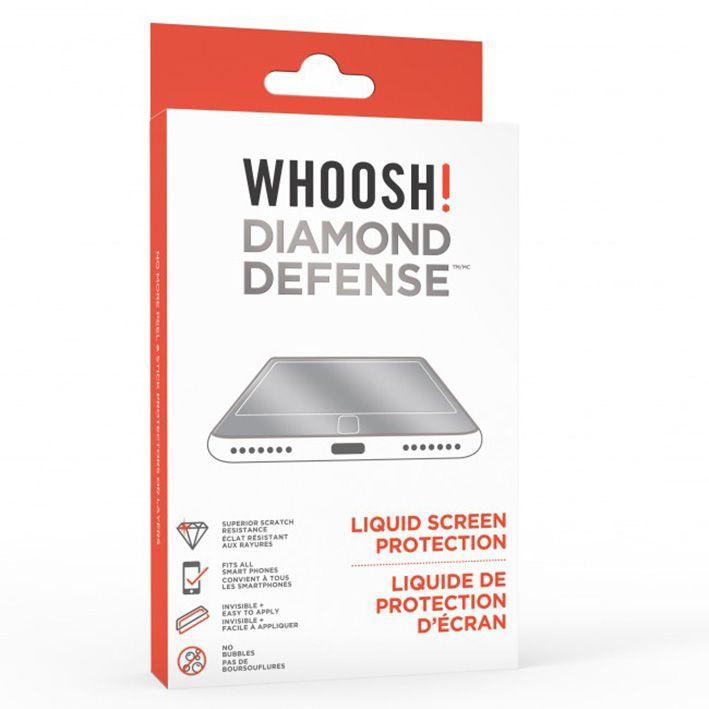 WHOOSH! Diamond Defensa tekutá ochrana displeja
