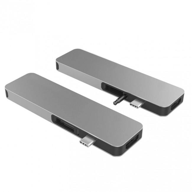 HyperDrive SOLO USB-C Hub pre MacBook & ostatní USB-C zariadenia - Space Gray