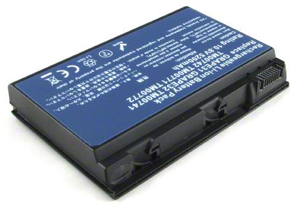 Batéria GRAPE32 pre Acer Extensa 5210, 5220, 5420G, 5620G, 5620Z, 5630, 5630G, 5630Z - 5200 mAh - 10,8V/11,1V