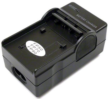 Nabíjačka pre Sony NP-FP30, NP-FP50, NP-FP51, NP-FP70, NP-FP71, NP-FP90, NP-FP91, NP-FH40, NP-FH50, NP-FH60, NP-FH70, NP-FH100