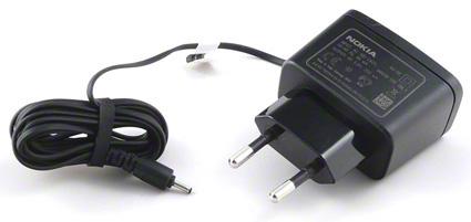 Originální nabíjačka AC-3E pre Nokia 3250, 6101, 6103, 6111, 6125 - 2,0 mm