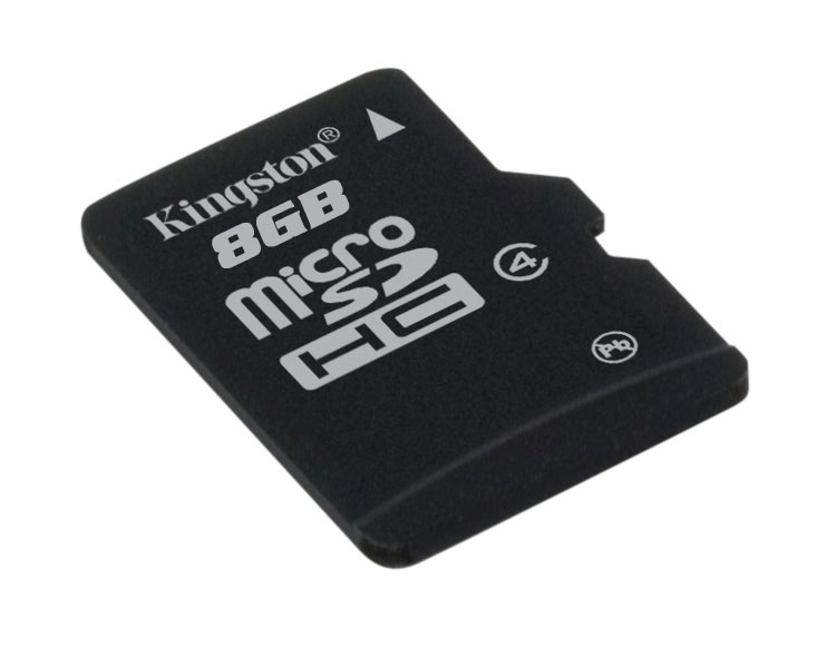 Pamäťová karta microSDHC 8GB class 4 - Kingston