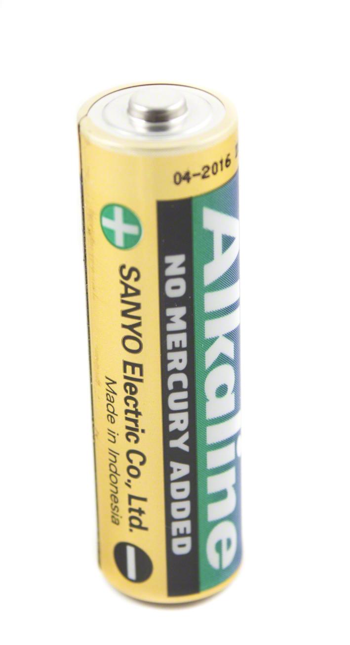Alkalická tužková AA batéria Sanyo 1ks