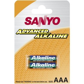 Alkalická mikrotužková AAA batéria Sanyo 1ks