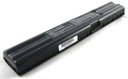 Batéria pre Asus A3000, A3500, A3527, A3A, A38N - 4400 mAh