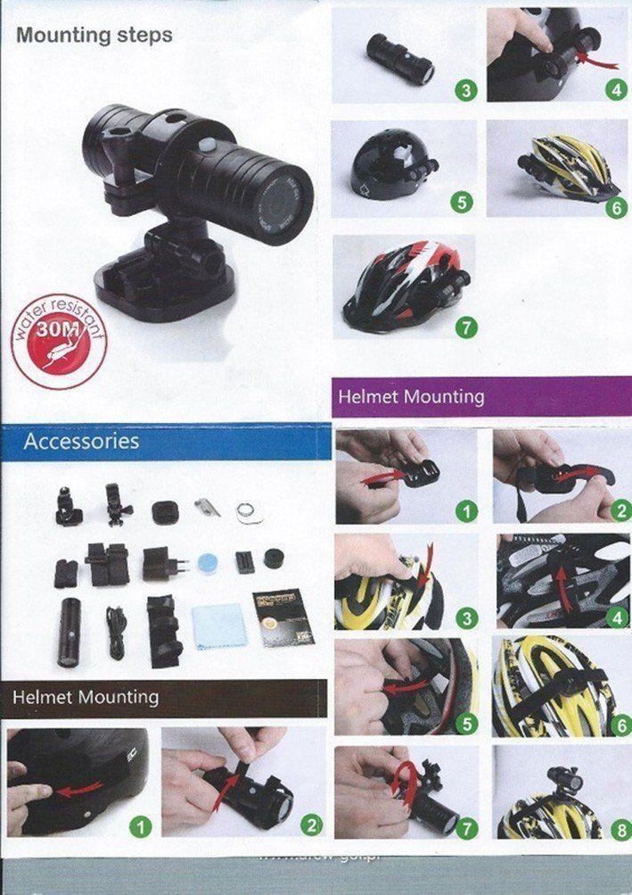 ... Športová kamera BK-10 - FULL HD vodotesná do 30m ... d4e83c05c94