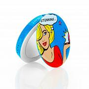 Hyper Pearl Mini make-up mirror & powerbank 1600mAh - Comic Blond