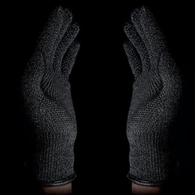 d2bc1604651 MUJJO Dvouvrstvé dotykové rukavice pre SmartPhone - veľkosť L - čierne ...