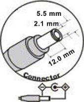 AC adaptér pre Acer 19V 4,74A - 5,5x2,1mm - Lite-On