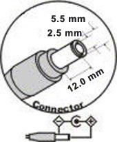 AC adaptér pre Acer 19V 4,74A - 5,5x2,5mm